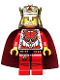 Minifig No: cas486  Name: Kingdoms - Lion King