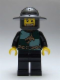 Minifig No: cas487  Name: Kingdoms - Dragon Knight Quarters, Helmet with Broad Brim, Gold Tooth