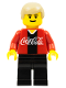 Minifig No: cc4445  Name: Soccer Player Coca-Cola Midfielder 1