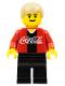 Minifig No: cc4445  Name: Soccer Player Coca-Cola Midfielder 1
