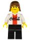 Minifig No: cc4451  Name: Soccer Player Coca-Cola Striker 3