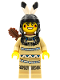 Minifig No: col001  Name: Tribal Hunter, Series 1 (Minifigure Only without Stand and Accessories)