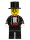 Minifig No: col009  Name: Magician, Series 1 (Minifigure Only without Stand and Accessories)