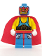 Minifig No: col010  Name: Super Wrestler, Series 1 (Minifigure Only without Stand and Accessories)