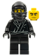 Minifig No: col012  Name: Ninja, Series 1 (Minifigure Only without Stand and Accessories)