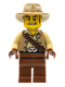 Minifig No: col016  Name: Cowboy, Series 1 (Minifigure Only without Stand and Accessories)