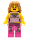 Minifig No: col027  Name: Pop Star - Minifigure only Entry