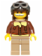 Minifig No: col036  Name: Pilot - Minifigure only Entry