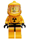 Minifig No: col061  Name: Hazmat Guy - Minifigure only Entry
