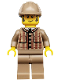 Minifig No: col075  Name: Detective - Minifigure only Entry