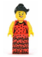 Minifig No: col086  Name: Flamenco Dancer - Minifigure only Entry