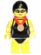 Minifig No: col097  Name: Swimming Champion - Minifigure only Entry