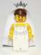Minifig No: col100  Name: Bride - Minifigure only Entry