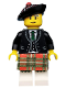 Minifig No: col102  Name: Bagpiper - Minifigure only Entry