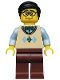 Minifig No: col108  Name: Computer Programmer - Minifigure only Entry