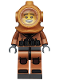 Minifig No: col118  Name: Diver - Minifigure only Entry