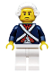 Minifig No: col156  Name: Revolutionary Soldier - Minifigure only Entry