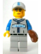 Minifig No: col157  Name: Baseball Fielder - Minifigure only Entry