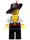Minifig No: col191  Name: Swashbuckler - Minifigure only Entry