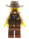 Minifig No: col196  Name: Sheriff - Minifigure only Entry