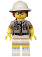 Minifig No: col200  Name: Paleontologist - Minifigure only Entry