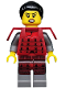 Minifig No: col206  Name: Samurai - Minifigure only Entry