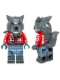 Minifig No: col211  Name: Wolf Guy - Minifigure only Entry