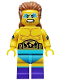 Minifig No: col241  Name: Wrestling Champion - Minifigure only Entry