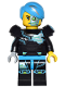 Minifig No: col246  Name: Cyborg - Minifigure only Entry