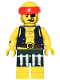 Minifig No: col252  Name: Scallywag Pirate - Minifigure only Entry