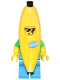 Minifig No: col258  Name: Banana Suit Guy - Minifigure only Entry