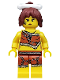 Minifig No: col303  Name: Cave Woman - Iconic Cave