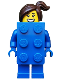 Minifig No: col314  Name: Brick Suit Girl - Minifigure only Entry
