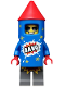 Minifig No: col316  Name: Firework Guy - Minifigure only Entry