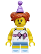 Minifig No: col317  Name: Birthday Party Girl - Minifigure only Entry
