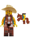 Minifig No: col326  Name: Cowboy Costume Guy - Minifigure only Entry
