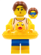Minifig No: col338  Name: Beach Party Dude