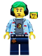 Minifig No: col341  Name: Video Game Champ - Minifigure only Entry