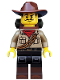 Minifig No: col348  Name: Jungle Explorer - Minifigure only Entry