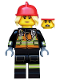 Minifig No: col349  Name: Fire Fighter - Minifigure only Entry