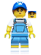 Minifig No: col350  Name: Dog Sitter - Minifigure only Entry