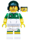 Minifig No: col354  Name: Rugby Player - Minifigure only Entry