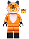 Minifig No: col355  Name: Fox Costume Girl - Minifigure only Entry