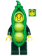 Minifig No: col360  Name: Peapod Costume Girl - Minifigure Only Entry