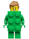 Minifig No: col370  Name: Brick Costume Guy - Minifigure Only Entry