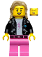 Minifig No: col371  Name: 80s Musician - Minifigure Only Entry