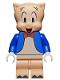 Minifig No: collt12  Name: Porky Pig - Minifigure only Entry
