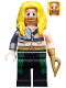 Minifig No: colsh03  Name: Aquaman, Long Yellow Hair, Hook Hand