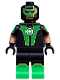 Minifig No: colsh08  Name: Green Lantern, Simon Baz