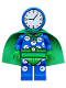 Minifig No: coltlbm27  Name: Clock King - Minifigure Only Entry